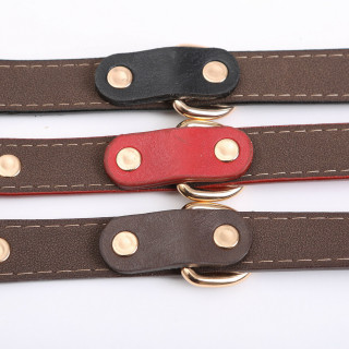 PU Pet Dog Collar Personalized Pet Collar XS-XL